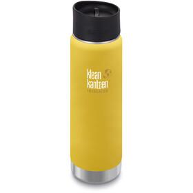 Klean Kanteen Wide Vacuum Insulated Drikkeflaske Café Cap 2.0 592ml, gul